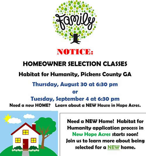 Habitat For Humanity New Home Application Process Starting Soon