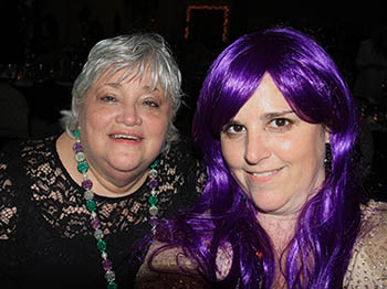 Purple Wig was a hit at Mardi Gras in the Mountains