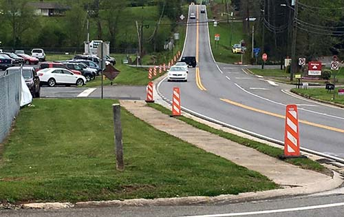 GDOT State Funds Improving Intersection Beside Jasper Middle School