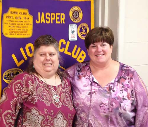North Central Georgia Chapter of the Blind Leader Visit Jasper Lions Club