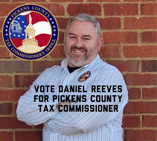 A Statement from Daniel Reeves Running for Tax Commissioner