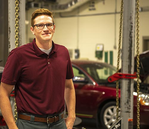 Chattahoochee Tech Welcomes Pickens County Native as New Auto Collision Repair Instructor at Appalachian Campus
