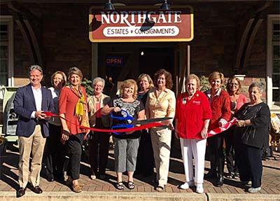 Ribbon Cutting for North Gate Estates & Consignment Sales