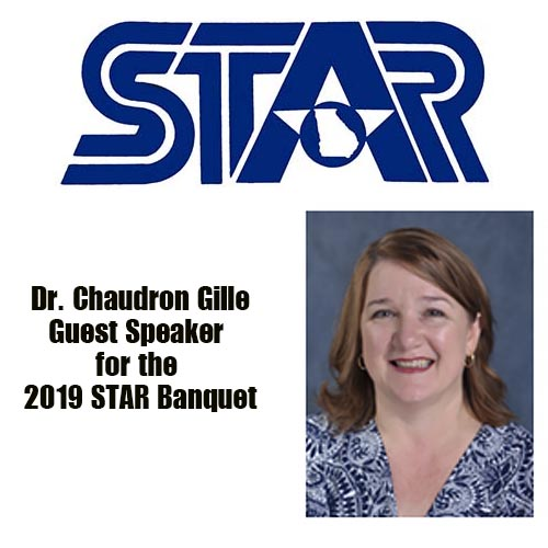 Dr. Chaudron Gille – Guest Speaker  for the 2019 STAR Banquet