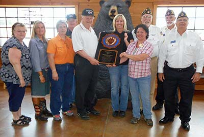 American Legion Post 149 Recognizes Bargain Barn For Their Support