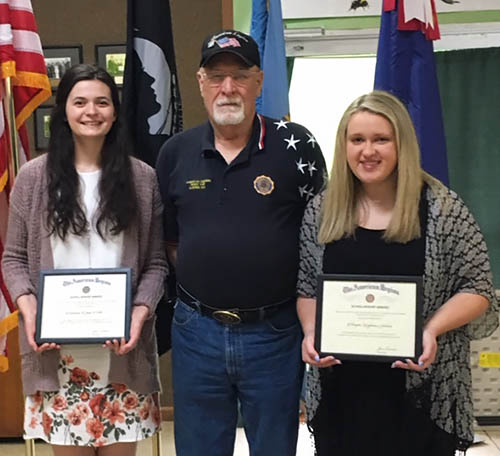 American Legion Scholarships Given to Pickens Graduates