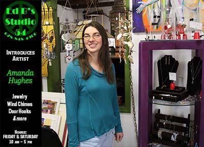 Ed B's Studio 54 Introduces Artist Amanda Hughes