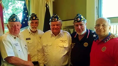 Pickens County American Legion Post 149 2016-2017 Officers
