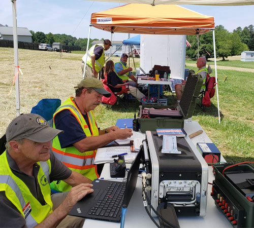 65 Hams Attended ARES Training Event