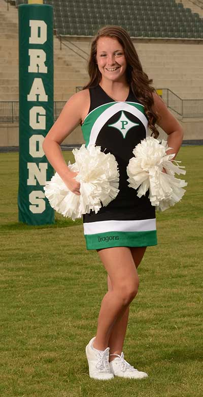 Autumn Andrews is Cheerleader of the Week