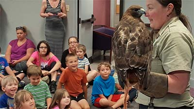 Birds of Prey at the Pickens County Library