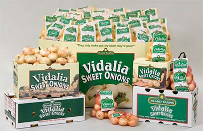 It's Vidalia Sweet Onion Time