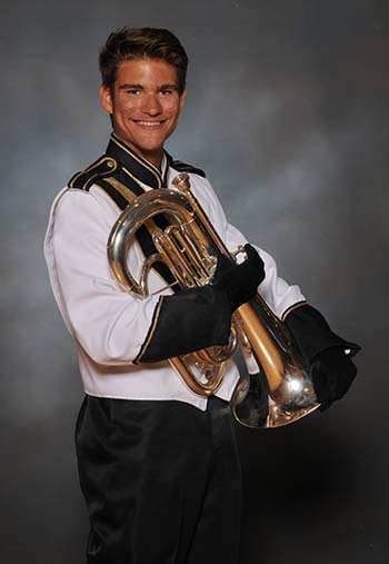 PHS Band Student of the Week:  Blue Goodman