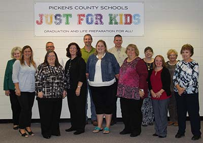 2016 Pickens Teachers of the Year
