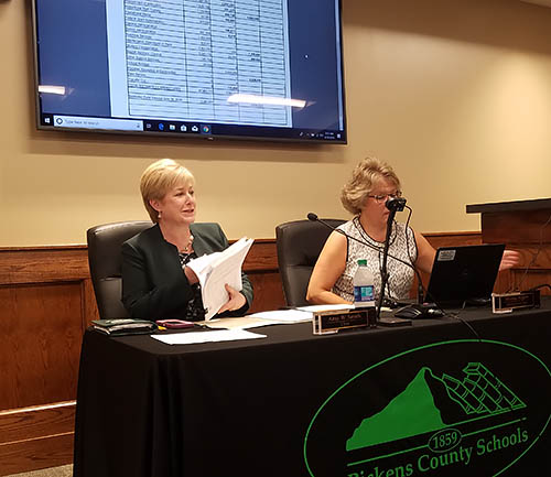 Pickens County Board of Education Called Meeting June 2019