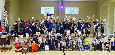Boys Scouts of America - Appalachian Trail District's Popcorn Sales a Success