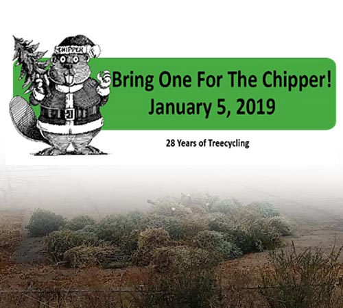 Plan Now to Bring One For The Chipper