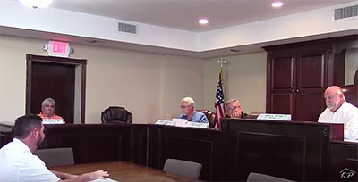 Jasper City Council July 2016 (Video)