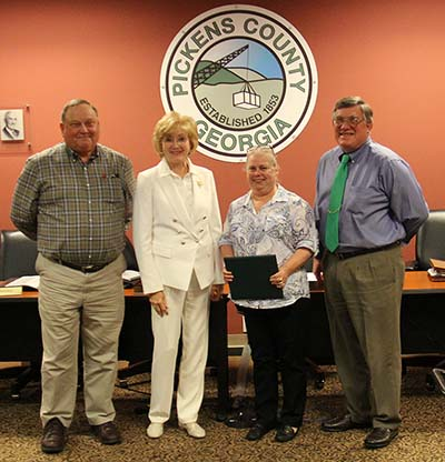Pickens County Board of Commissioners April 2016 (Video)
