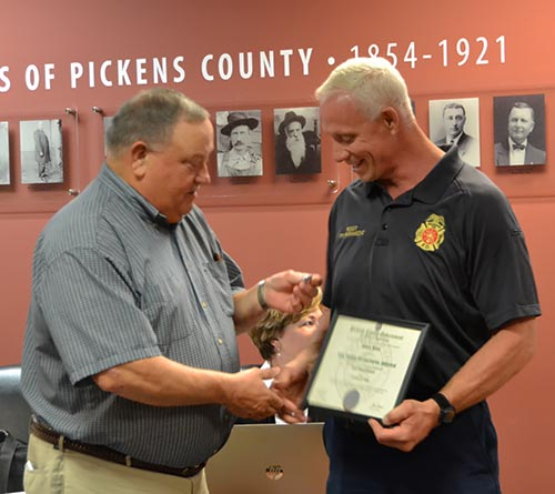 Pickens County Board of Commissioners October 2018