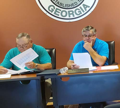 Pickens Board of Commissioners Called Meeting | 2019 Tax Digest & 5-Year History of Levy