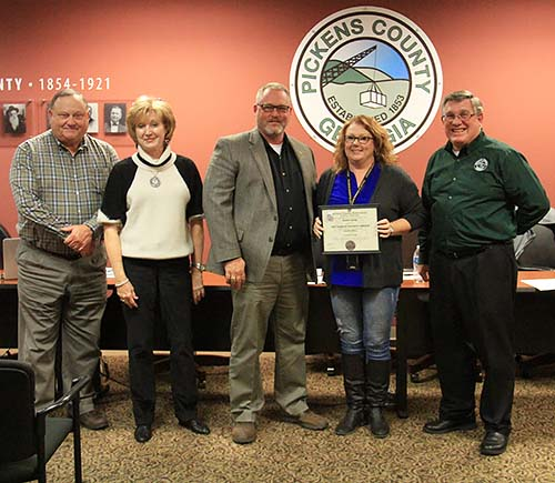 Pickens County Board of Commissioners November 2018