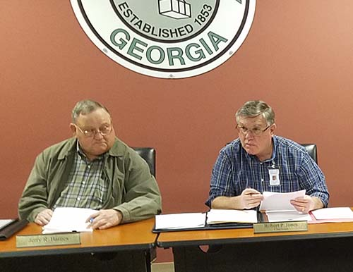 Pickens County Board of Commissioners Work Session February 2018