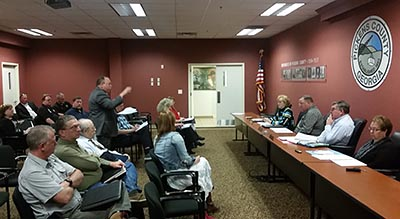 Pickens County Board of Commissioners April 2016 Work Session (Video)