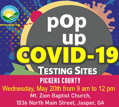 FREE COVID-19 Testing at Pop-Up Site Wednesday