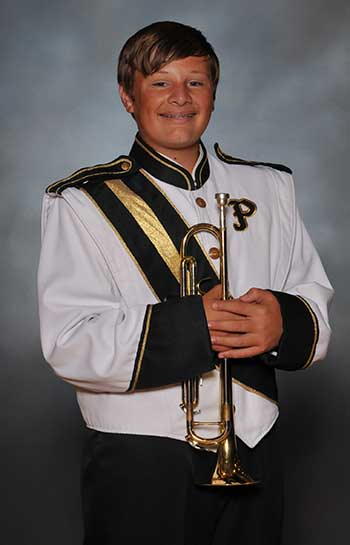 PHS Band Member of the Week:  Craig Johnson