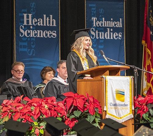Chattahoochee Technical College Commencement Ceremonies  Honor Graduates