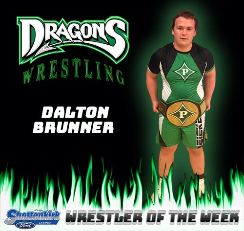 Dalton Brunner Named Wrestler of the Week