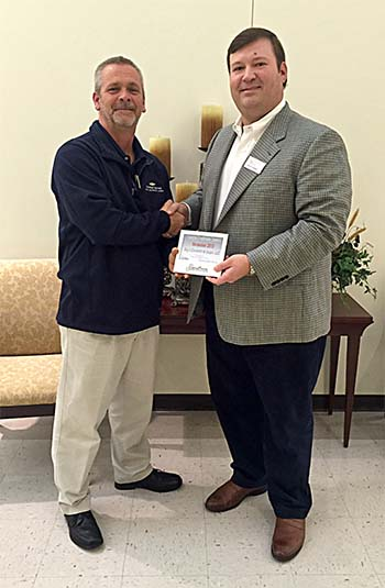 Day's Chevrolet Awarded Pickens Chamber Large Business of the Month