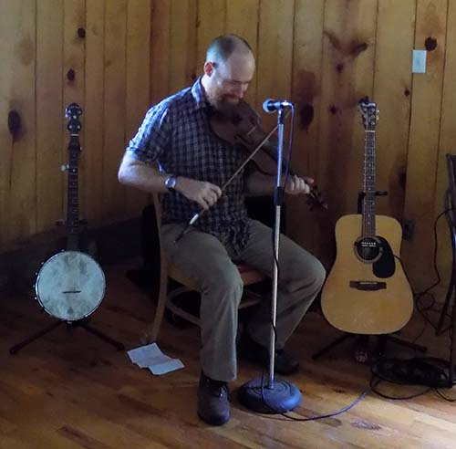 Mountain Music by local musician Chris Farmer