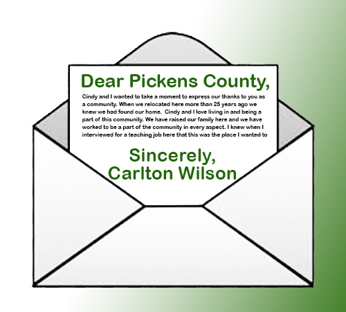 Letter from Dr. Carlton Wilson Following Settlement Agreement to Resign as Superintendent
