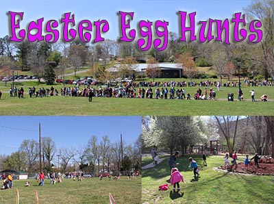 Easter Egg Hunts This Weekend