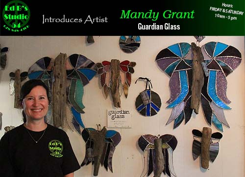 Ed B's Studio 54 Introduces Artist Mandy Grant
