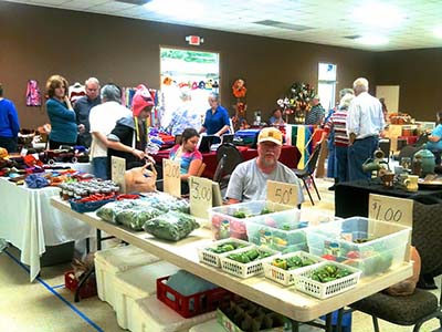 The Jasper Winter Farmers Market Opens