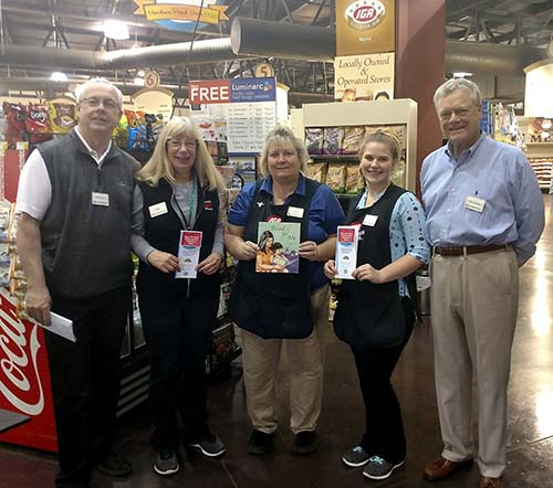 Foothills IGA Market  supports 'Love of Literacy'