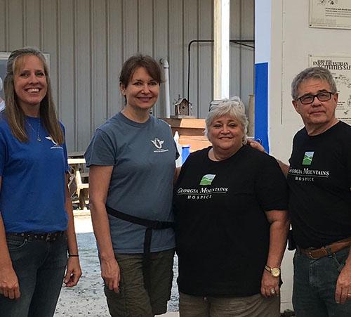 Georgia Mountains Hospice Gives Back