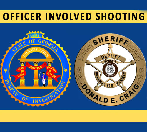 GBI Investigates Officer Involved Shooting in Pickens County