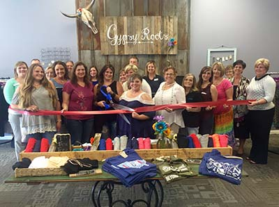 Gypsy Roots Hold Ribbon Cutting Ceremony