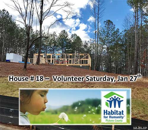 Time To Raise The Roof For Habitat for Humanity House #18