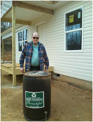 Habitat for Humanity Pickens County Partners with Keep Pickens Beautiful