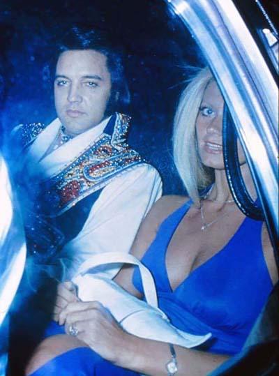 Elvis Presley and Diana Goodman