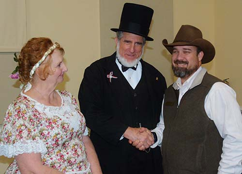 Honest Abe To Speak at Jasper UMC