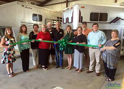 Ribbon Cutting Ceremony Held for Horse Trailer Supply, LLC