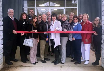 Pickens Chamber Ribbon Cutting for Inspired 2 Design, LLC