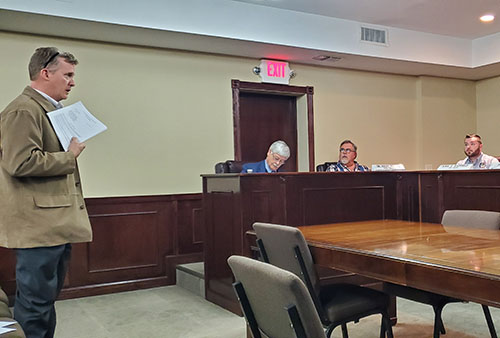 Jasper City Council Called Meeting January 2020