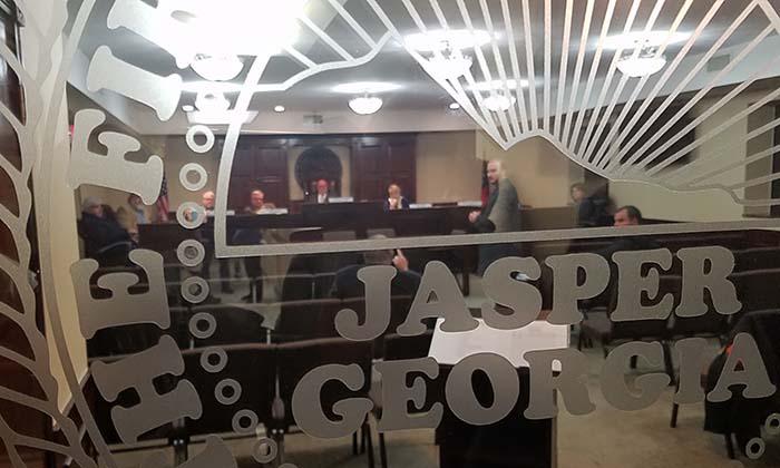 Jasper City Council Meeting January 2018